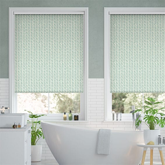 Splash Leaping Fish Duck Egg Roller Blind