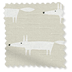 Little Mr Fox Linen Roller Blind slat image