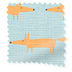 Little Mr Fox Sky Roller Blind slat image