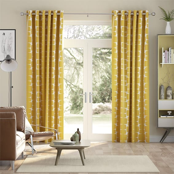 Lohko Golden Syrup Curtains