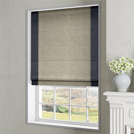 Manor Navy Roman Blind Blinds Online