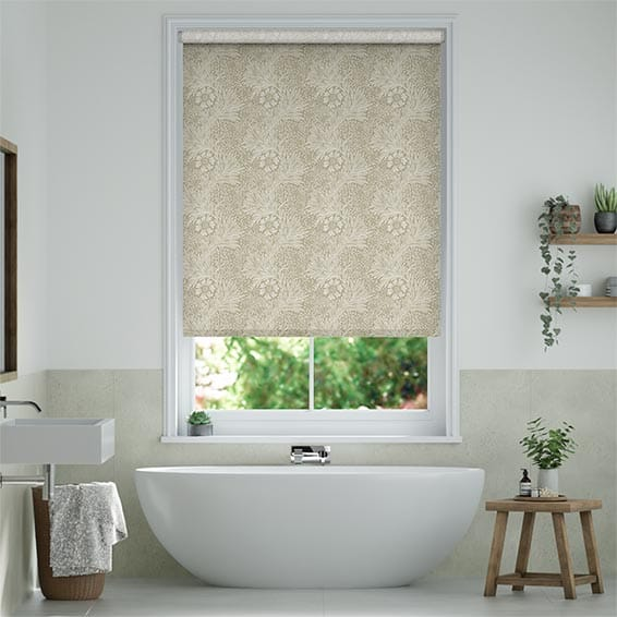 William Morris Marigold Hemp Roller Blind