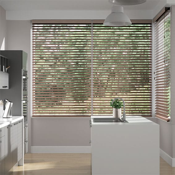 Metropolitan Ashen Oak Wooden Blind