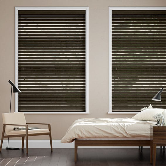 Metropolitan Dark Oak Wooden Blind