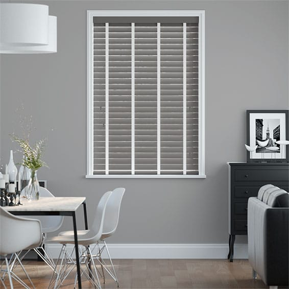 Metropolitan Iron & Chalk Wooden Blind