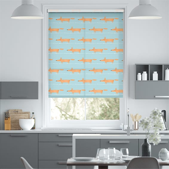 Mr Fox Mini Sky Roller Blind