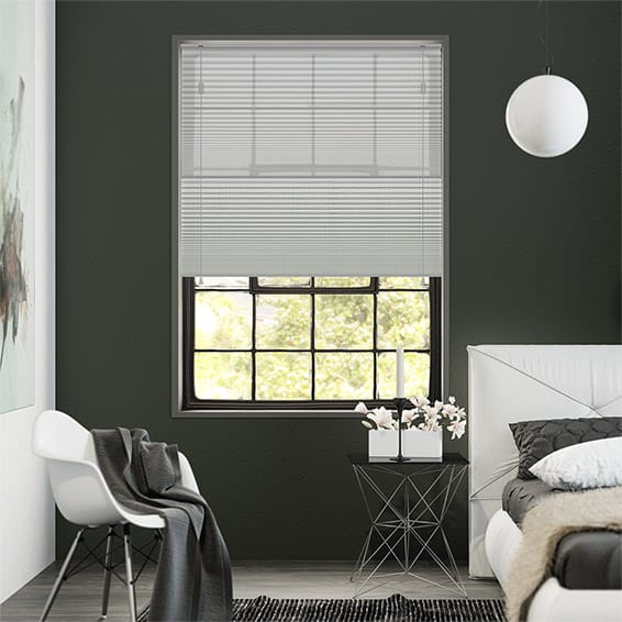 Night & Day Duo Simply Grey Pleated Blind