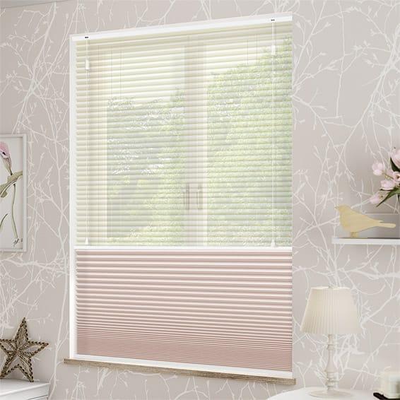 Kết quả hình ảnh cho honeycomb blinds day and night cord