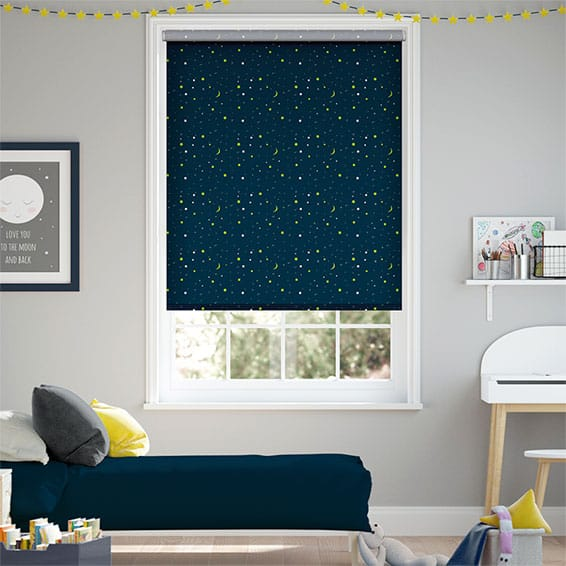 Night Sky Blockout Roller Blind