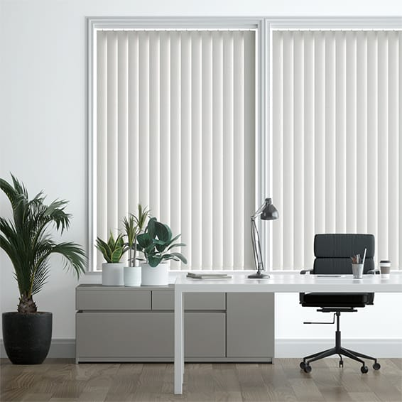 Obscura Cement Grey Vertical Blind