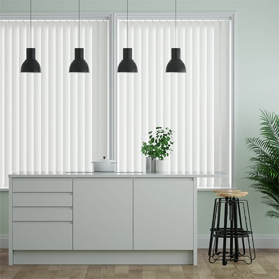 Obscura Cotton Vertical Blind