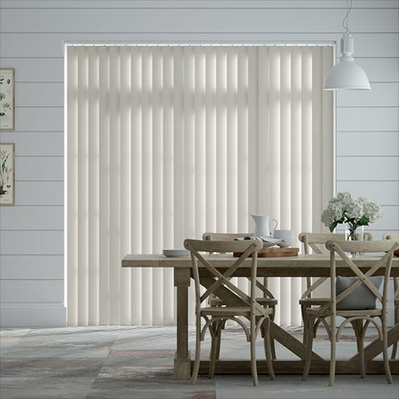 Obscura Dust grey Vertical Blind