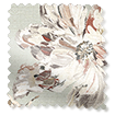 Painterly Floral Faux Silk Mist Curtains slat image