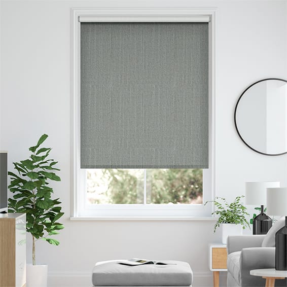 Choices Paleo Linen Elephant Grey Roller Blind