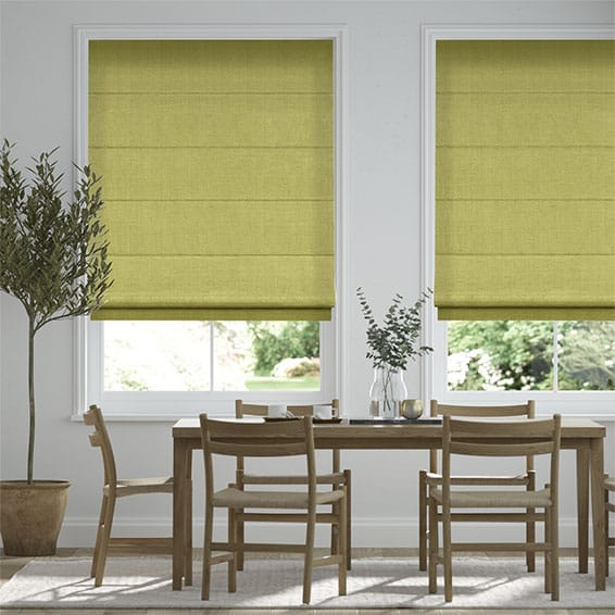 Paleo Linen Golden Apple  Roman Blind