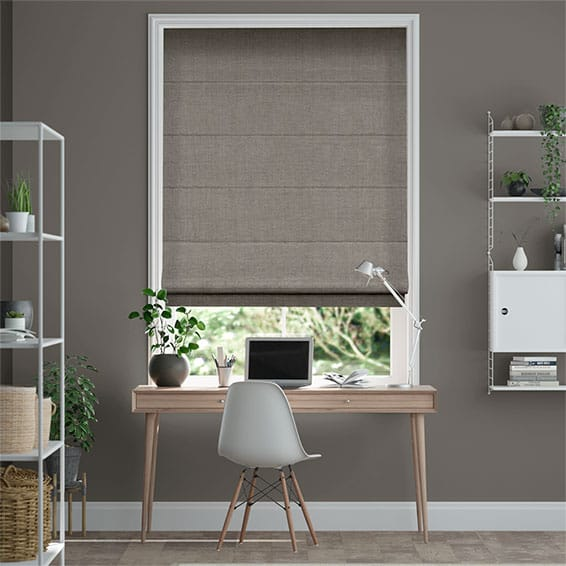 Paleo Linen Incense  Roman Blind