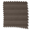 HoneyLight Dark Cocoa Pleated Blind slat image