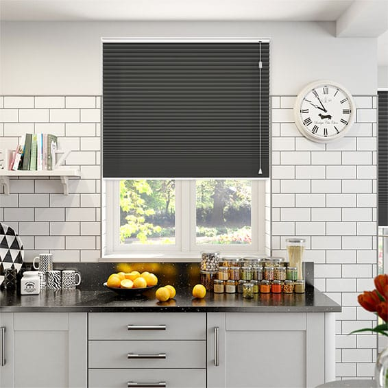 HoneyShade Jet Pleated Blind
