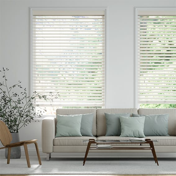 Parchment Timber Style Venetian Blind
