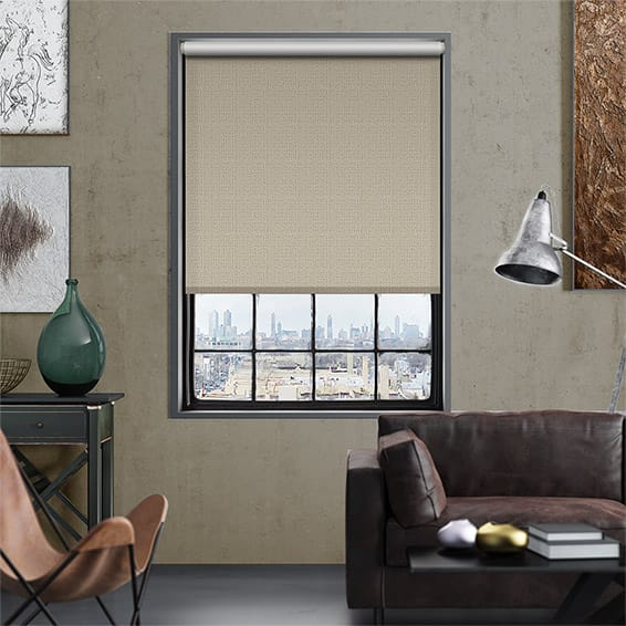 Plasma Pale Bronze Blockout Roller Blind