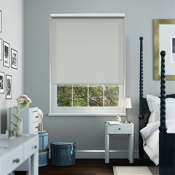 Plasma Platinum Blockout Roller Blind