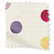 Polka Dot Purple Roman Blind slat image