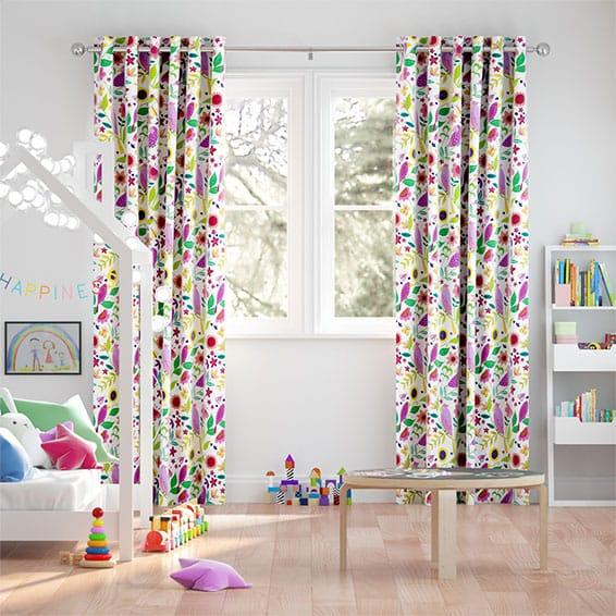 Polly & Friends Berry Curtains