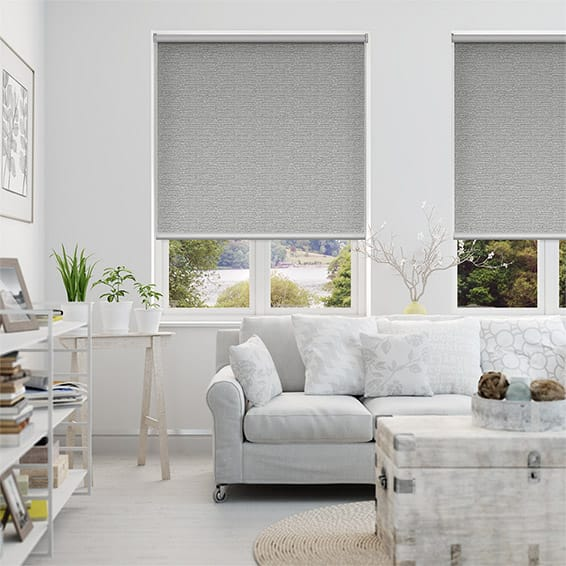 Oasis Dove Blockout Roller Blind