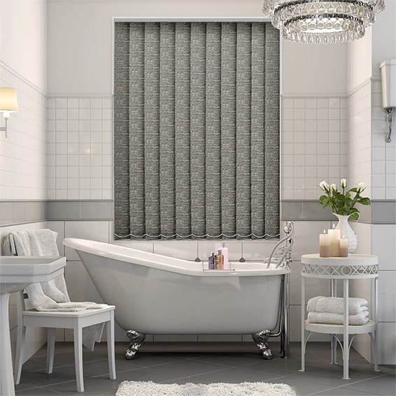 Oasis Pyrite Blockout Vertical Blind - 127mm Slat