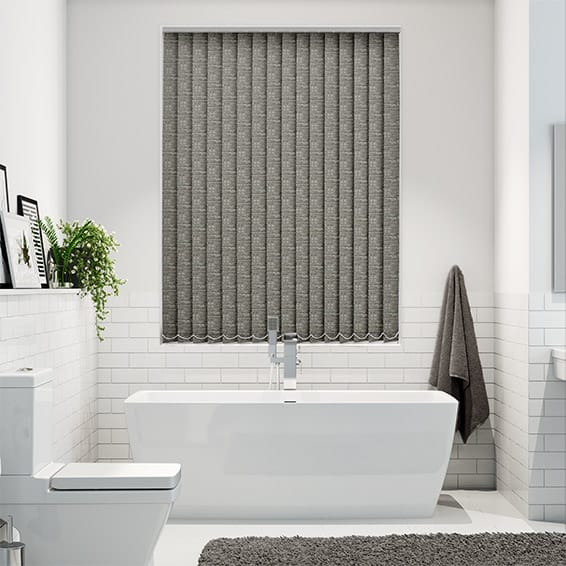Oasis Pyrite Blockout Vertical Blind - 89mm Slat