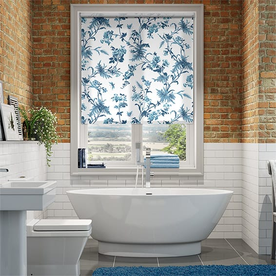 Primrose Hill China Blue Roller Blind