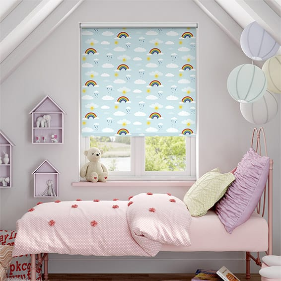 Rainbow Sky Blockout Roller Blind