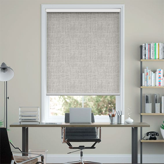 Moda Ash Grey Blockout Roller Blind