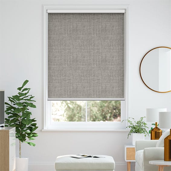 Moda Storm Grey Blockout Roller Blind