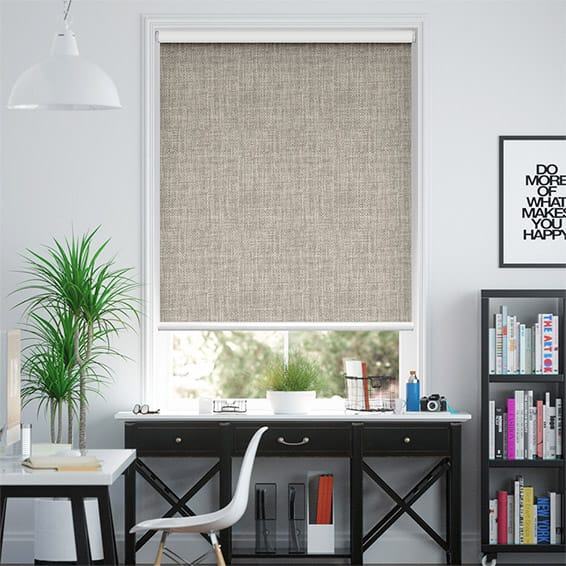 Moda Warm Grey Blockout Roller Blind