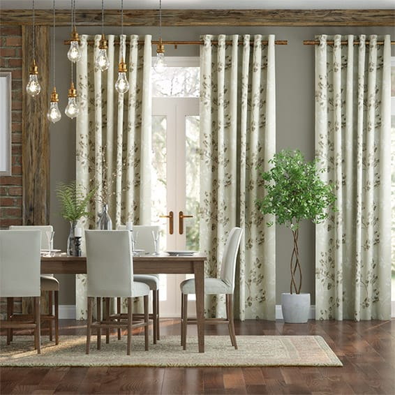 Renaissance Linen Neutral Curtains