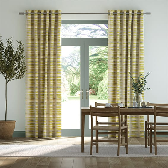 Reverie Spring Green Curtains