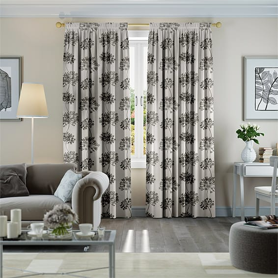 Rosedale Natural Curtains