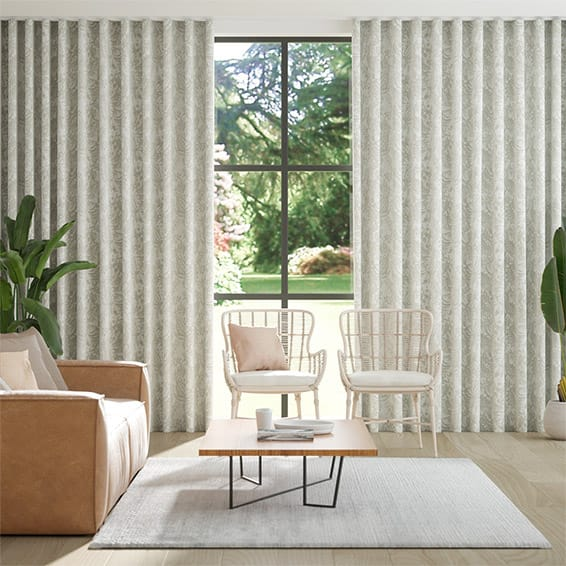 S-Fold Toco Neutral  Curtains
