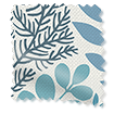 Scandi Ferns Linen Winter Roman Blind slat image