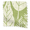 Scandi Ferns Vintage Linen Apple Roman Blind slat image
