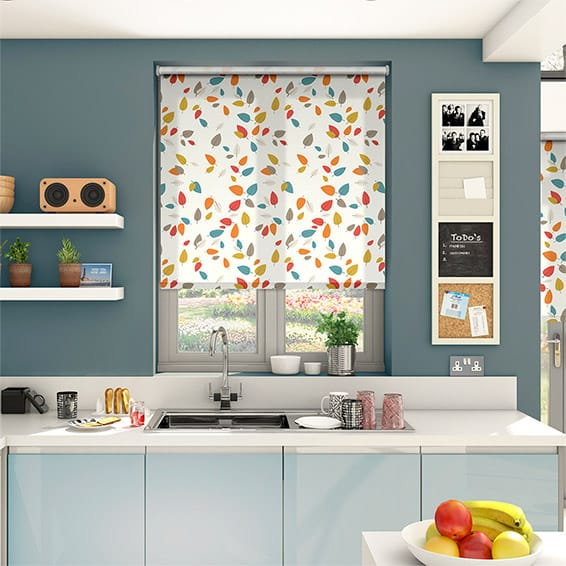 Seasons Summer Roller Blind