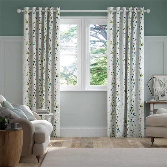 Secret Garden Bluegrass Curtains