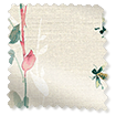Secret Garden Faux Silk Rose Roman Blind slat image