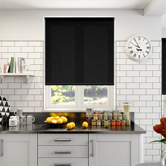 Orlando Panther Light Filter Roller Blind