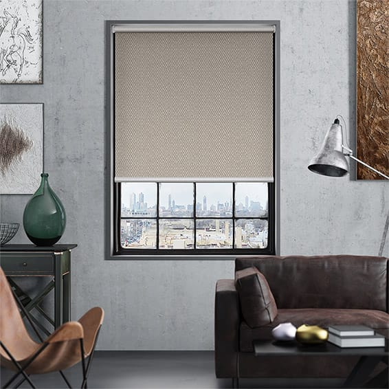 Tranquility Chamois Blockout Roller Blind