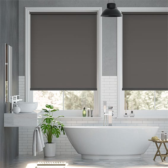 Solace Charcoal Roller Blind