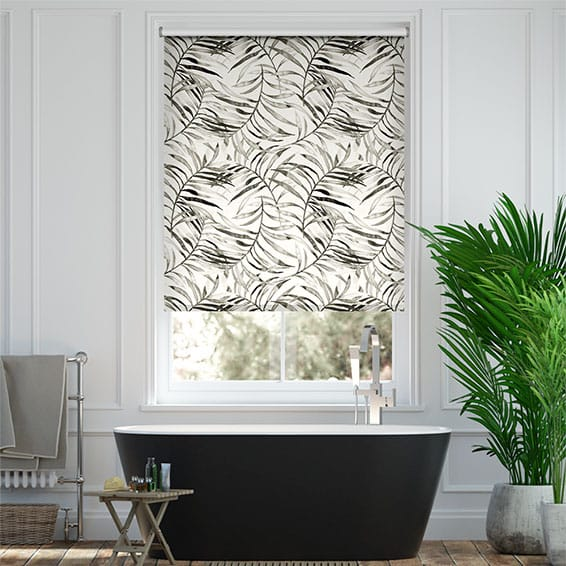 Splash Kentia Smoke Roller Blind