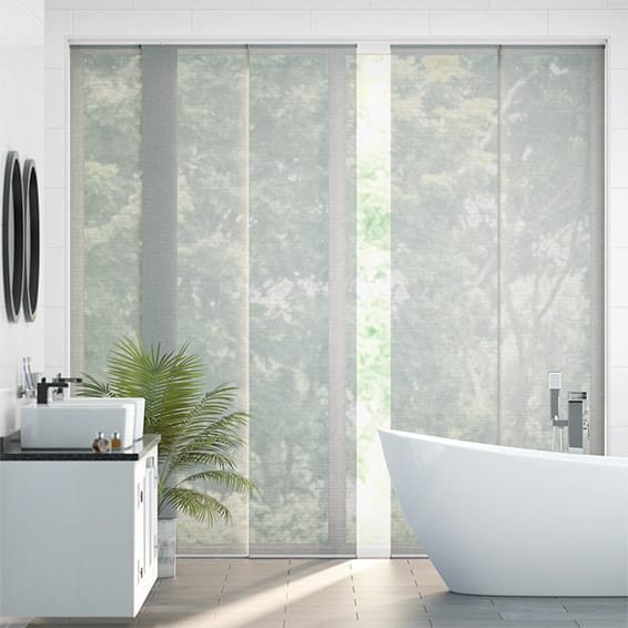 Splash Sonny Modern Grey Panel Blind