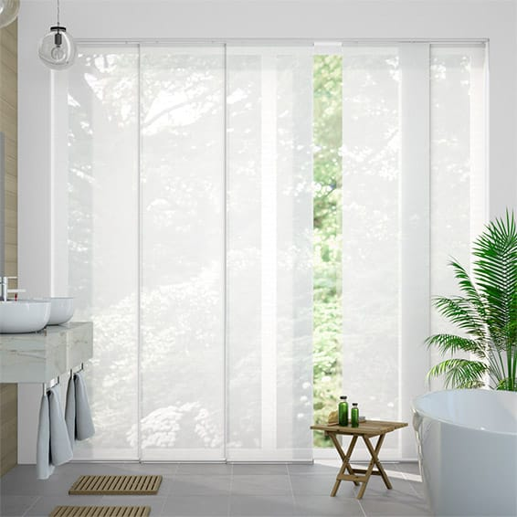 Splash Sonny Simply White Panel Blind
